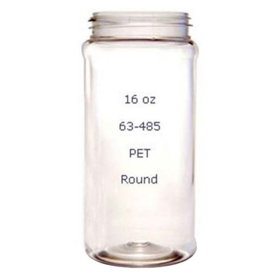 Picture of 16 oz Spice Plastic Jar