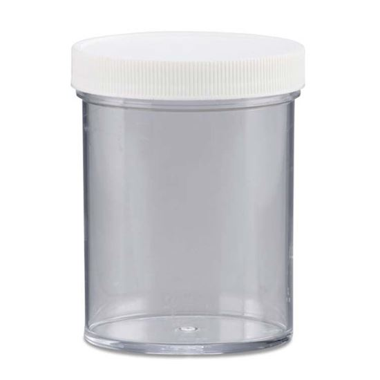 Picture of 8 oz Straight Sided Plastic Jar