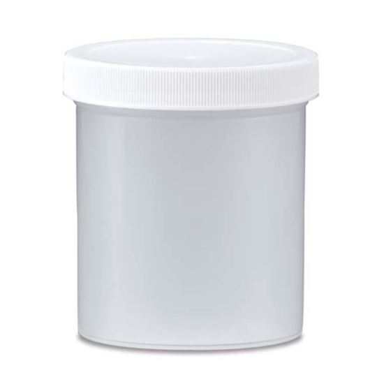 Picture of 16 oz Straight Sided Plastic Jar