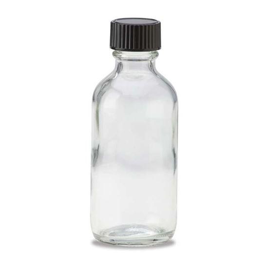Picture of 2 oz Boston Round Glass Bottle
