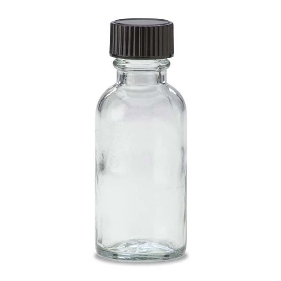 Picture of 1/2 oz Boston Round Glass Bottle