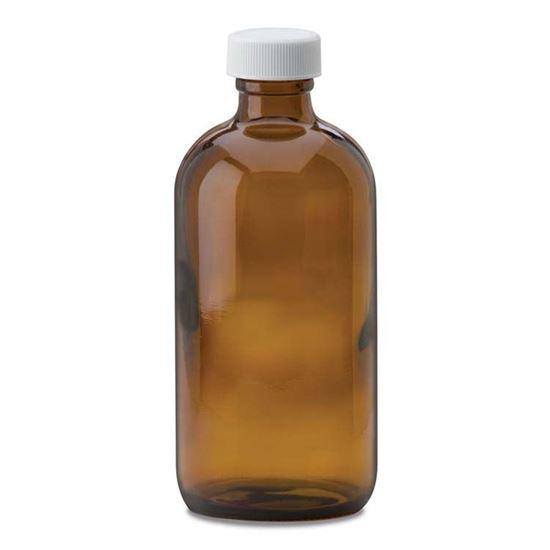 Picture of 8 oz Boston Round Glass Bottle