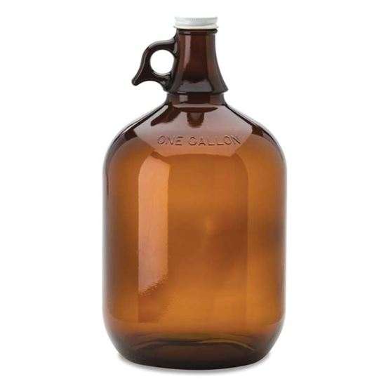 Picture of 128 oz Glass Jug