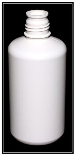 Picture of 32 oz Boston Round HDPE Bottle