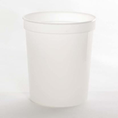 Picture of 32 oz Translucent PP Tub