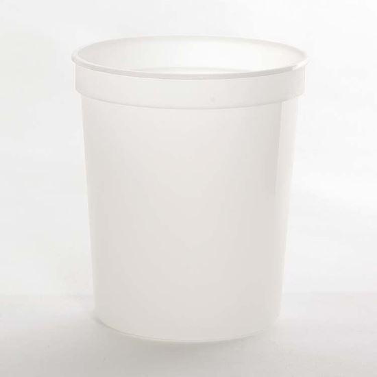 Picture of 32 oz Translucent PP Tub
