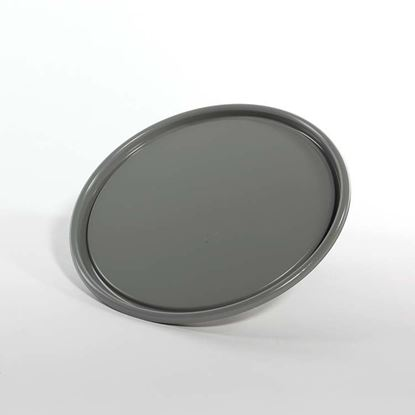 Picture of 2.5 - 7 Gallon Steel Gray Ring Seal Cover w/ Interior Rust Inhibitor Lining and EPDM Gasket - UN