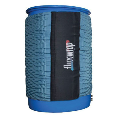 Picture of 55 Gallon Drum Flux Wrap Jacket with Insulation (FLUX55)