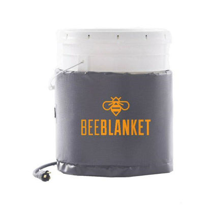 Picture of 5-Gallon Insulated Pail Heater Fixed Thermostat 110 °F - BeeBlanket (BB05)