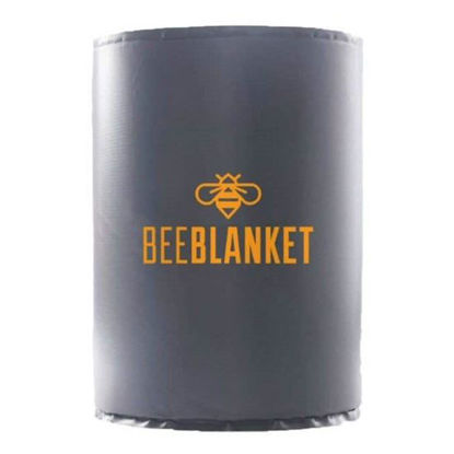 Picture of 55-Gallon Insulated Drum Heater - Honey Heater w/fixed Thermostat, 110 °F - BeeBlanket (BB55)