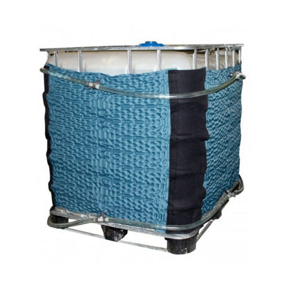 Picture of 275 Gallon Tote Flux Wrap Jacket with Insulation