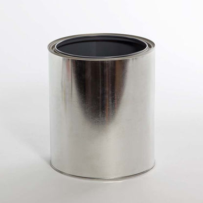 Picture of 1 Gallon Round Can, Gray Lined, No Ears, 610x708 with Plug, 46/Case