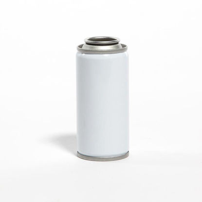 Picture of 4 oz White Aerosol Can, Unlined, 112x312, 2P