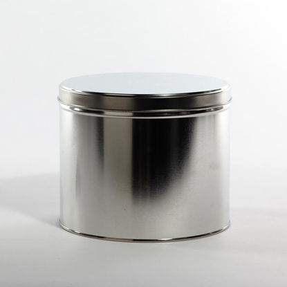 "Picture of 10 lb Ink Tin, Unlined, 7 1/2""x6 1/8"" w/ Lid"