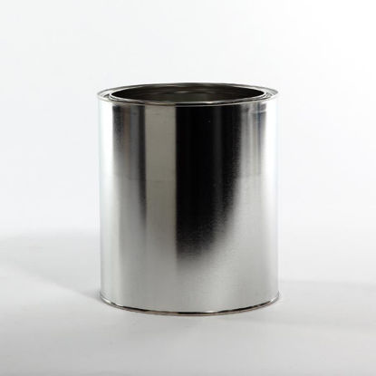 Picture of 1 Gallon Round Can, Unlined, No Ears, 610x708 with Plug, 34/Case