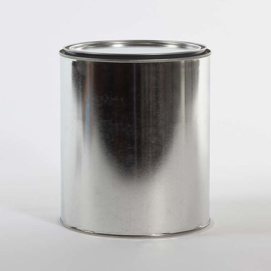 Picture of 1 Gallon Round Can, Gray Lined, No Ears, 610x708 with Plug
