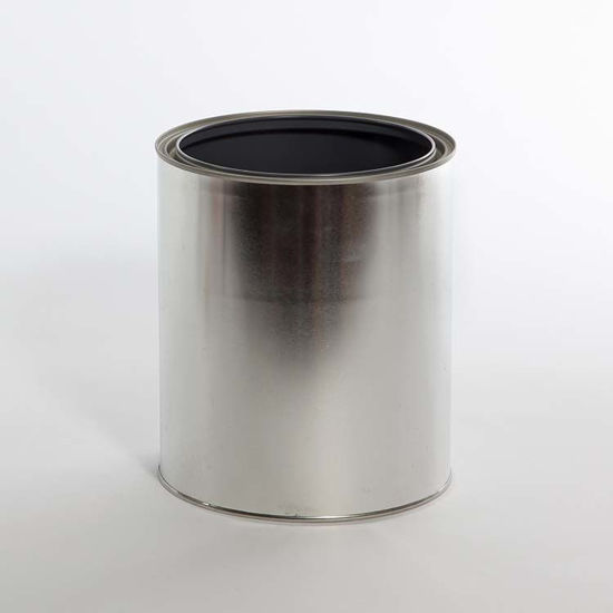 Picture of 1 Gallon Round Can, Gray Lined, No Ears, 610x711 (Bulk Pallet)