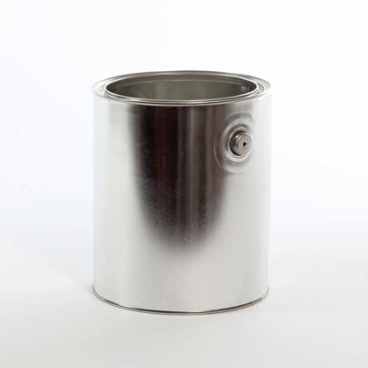 Picture of 1 Gallon Round Can, Unlined with Ears, 610x711 (Bulk Pallet)