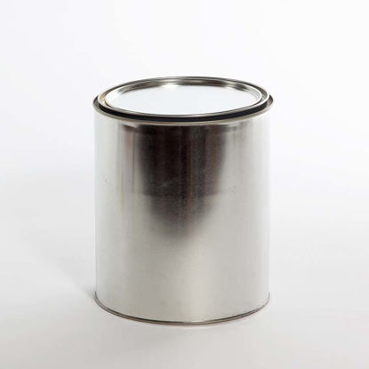 Picture of 1 Gallon Round Can, Gray Lined, No Ears, 610x711 with Plug, 34/Case