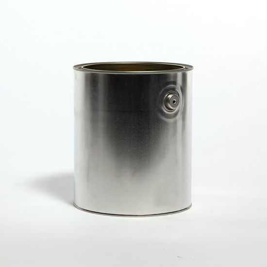 Picture of 1 Gallon Round Can, Gold Lined with Ears, 610x711 (Bulk Pallet)