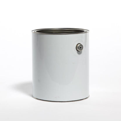 Picture of 1 Gallon White Round Can, Unlined with Ears, 610x708 (Bulk Pallet)