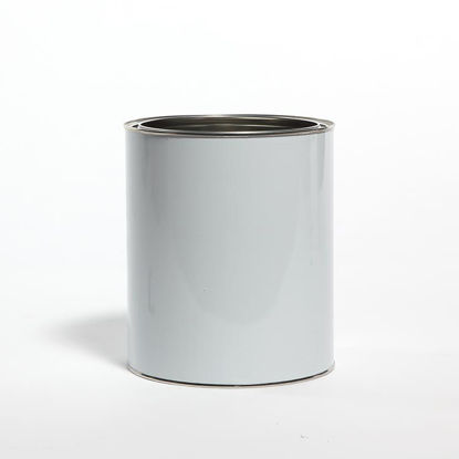 Picture of 1 Gallon White Round Can, Unlined, No Ears, 610x711 (Bulk Pallet)
