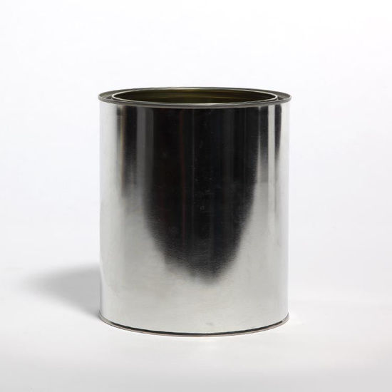 Picture of 1 Gallon Round Can, Gold Lined, No Ears, 610x711 (Bulk Pallet)