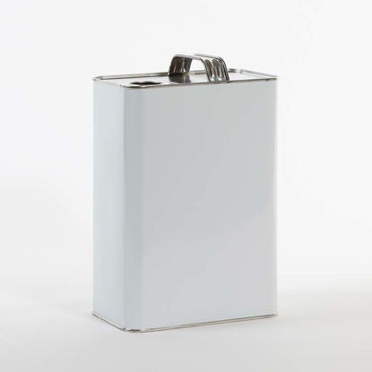Picture of 1 Gallon White F-Style Can, Unlined, 32 mm Rel, 610x907 (Bulk Pallet)