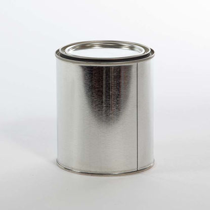Picture of 1 Quart Round Can, Gray Lined, 404x414 with Plug, 56/Case