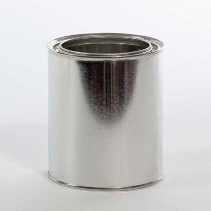 Picture of 1 Quart Round Can, Unlined, 404x414 (Bulk Pallet)