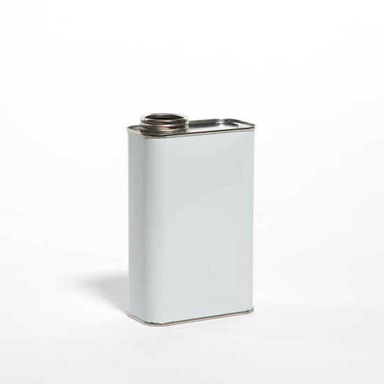 "Picture of 1 Quart White F-Style Can, 1 3/4"" Delta, Unlined, 409x614, 120/Case"