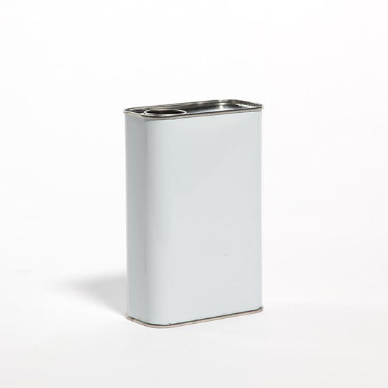 Picture of 1 Quart White F-Style Can, 32 mm Rel, Unlined, 409x614 (Bulk Pallet)