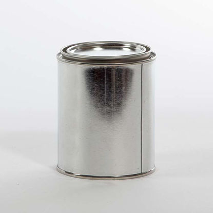 Picture of 1 Pint Round Can, Unlined, 307x315 with Plug, 50/Case