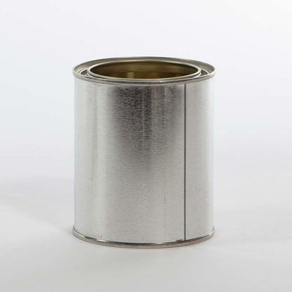 Picture of 1 Pint Round Can, Gold Lined, 307x315 w/ Plug