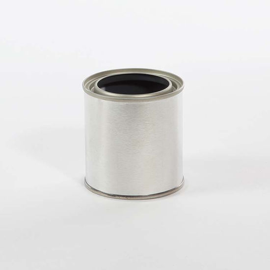 Picture of 1/2 Pint Round Can, Gray Lined, 214x300, 455/Case