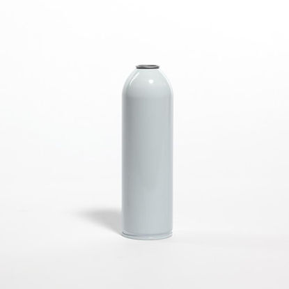 Picture of 22 oz White Aerosol Can, Unlined, 211x713, 2Q