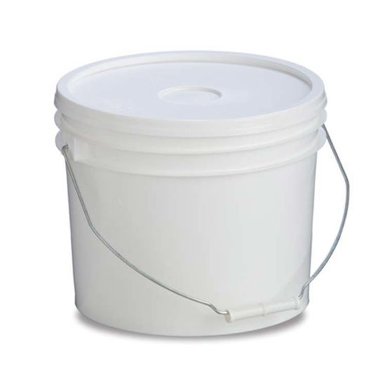 Picture of 3 Gallon White HDPE Open Head Pail