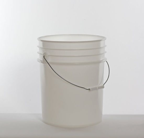 Picture of 5 Gallon Natural HDPE Open Head Pail, 1H2/Y1.5/30 & 1H2/Y27/S