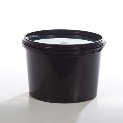 Picture of 38.5 oz PP Black Vapor Lok Tub w/ Handle