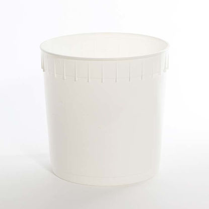 Picture of 2.5 Gallon White HDPE Open Head Pail