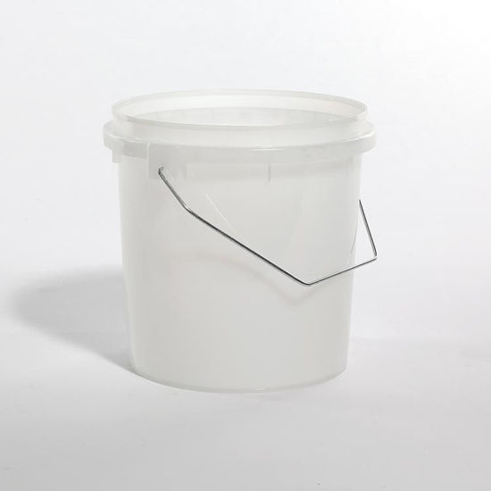 Picture of 1 Gallon Natural HDPE Vapor Lok Pail with Metal Handle