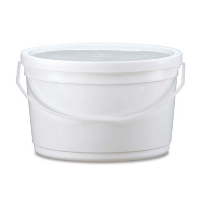 Picture of 4.2 Quart HDPE White Dairy Pail