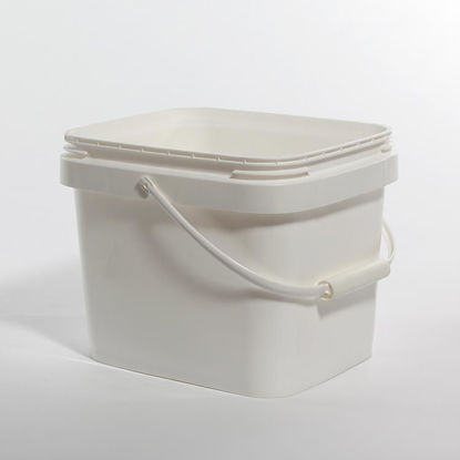 Picture of 3 Gallon White HDPE EZ Stor Pail