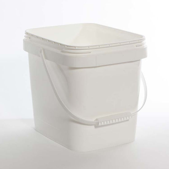 Picture of 4.25 Gallon White HDPE EZ Stor Pail