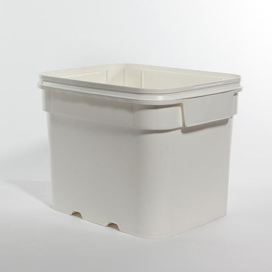 Picture of 8 Gallon White HDPE EZ Stor Pail