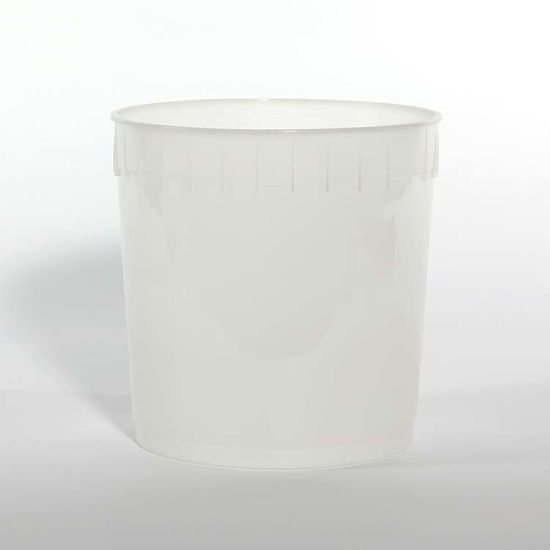 Picture of 2.5 Gallon Natural HDPE Open Head Pail