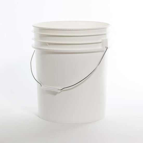 Picture of 5 Gallon Black HDPE Open Head Pail