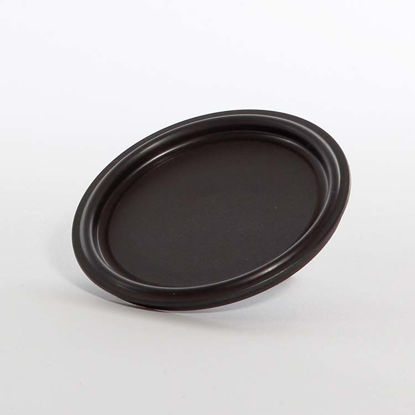 Picture of 404 Black Plastic Lid for Quart Cans