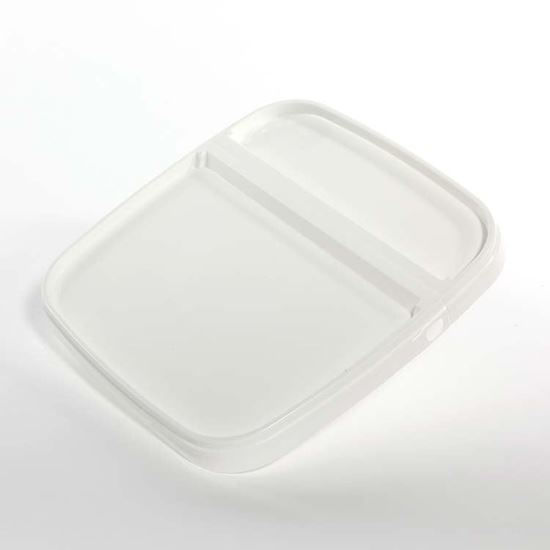 Picture of 6.5 Gallon White PP EZ Stor Hinged Cover (Dry Seal)