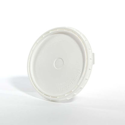 Picture of 1 Gallon HDPE White Vapor Lok Cover
